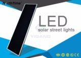 Luces de calle solares elegantes del control LED del APP del teléfono del alto brillo