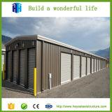 Edificio de la fábrica de la construcción de la estructura de acero para el estacionamiento del coche