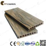 Superfície de grãos de madeira pisos de madeira WPC deck exterior