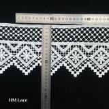 Form-Stickerei-Entwurfs-Stutzen-Baumwollguipurespitze-Häkelarbeit-Spitze-Muffe für Kleid L165