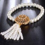 Braccialetti d'imitazione Handmade di lusso della perla del branello
