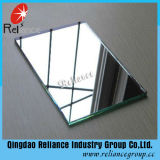 3-6mm/Espelho Retrovisor Exterior de alumínio/Espelho de prata/vidro espelhado para decoração