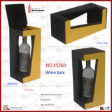 Wine de couro Bottle Stand Winebox (5260R5)