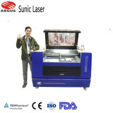 150W Plywood Small Laser Engraving Equipment 500*700mm met CCD Camera Positioning