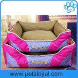 O cão por atacado fornece a cor-de-rosa da base do gato do filhote de cachorro do animal de estimação com o descanso