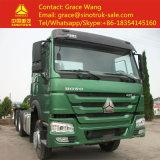 Sinotruk HOWO 6*4 트럭 또는 트레일러 트랙터 또는 트랙터 트럭 또는 트랙터 헤드