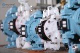 플라스틱 격막 진공 펌프, 압축 공기를 넣은 두 배 격막 펌프, 격막 수도 펌프, Aoddp