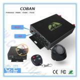 Alarme de carro Coban Rastreador de veículos GPS Tk105 com sensor de temperatura / relé de bloqueio central