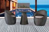 Jardim Outdoor Furniture Rattan Chair and Tea Table