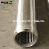 9 5/8 '' Wasser-Quellfilterjohnson-Grobfilter-Quellfilter-Rohr mit normalem Endanschluß