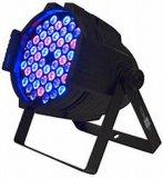 54*3W par LED RGBW DMX 512 DJ éclairage de scène Les chefs d'éclairage mobile