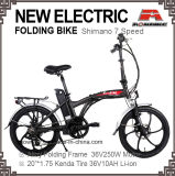 20 дюйма из одной части колеса электрический велосипед складной велосипед с электроприводом