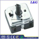 히이터에서 사용되는 B3400 4 위치 선별기 마이크로 로터리 스위치