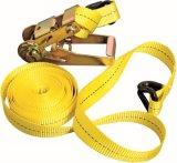 ラチェットのCapacityoemパレット固定用具の吊り鎖を結びなさい