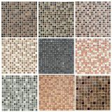 Azulejos de mosaico de mármol populares de encargo para la decoración de Wall&Floor