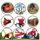 농장 트랙터 3개 점 결합 측 도리깨 잔디 깎는 사람 (EFDL125)