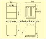 Eco-T1 Machine van de Afwasmachine van het Glas de Mini