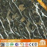 Glatte Porzellan-Fußboden-Marmorierungfliese mit dunkelgrüner Farbe (JM63012C)