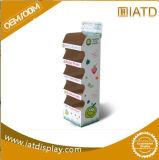 Persona in piedi di carta su ordinazione del pavimento di posizione Carboard di schiocco da vendere la promozione