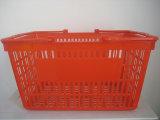 Supermarché nouveau panier de la poignée de magasinage en plastique