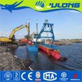 Draga aprobada de la succión de la arena/del cortador de Julong ISO/Ce