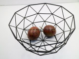 Style artistique Bol de fruits en métal