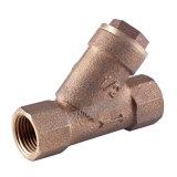 El tamiz de latón forjado de 2 pulgadas con filtro de acero inoxidable