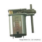 motor esperto da engrenagem 10f da C.C. de Uasge do brinquedo do diâmetro de 6V 10mm