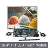 "Monitor LCD embutido de 10,4 ""com entrada VGA / HDMI / DVI"