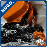 Élévateur noir à chaînes manuel de 3 tonnes pour le levage à chaînes de main