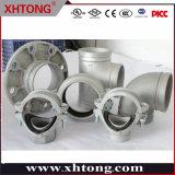 Xinhuitong ha galvanizzato il montaggio scanalato duttile degli accessori per tubi del ferro del gomito