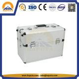 Резцовые коробка руки серебряные алюминиевые с подносами (HT-2301)