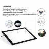"""XP-Pen Cp A4 18"""" со светодиодной подсветкой художественных ремесел отслеживания стол с подсветкой, блок освещения чертеж блока копировать плата X-ray блока"""