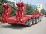 Tri-Axles 60 тонн низкий кровати трейлер Semi для сбывания