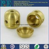 Personalizado de fundición de precisión y mecanizado CNC bola del hueco de latón