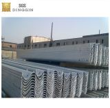 Guardavia d'acciaio di Higway come barriera di sicurezza