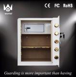 Cacifos seguros elétricos da caixa para a HOME e o hotel com a placa da divisória de 2 camadas