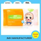 fornitore bagnato dell'OEM dei Wipes del bambino tenero non tessuto 80PCS (BW010)
