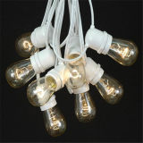 Напольный шнур патио освещает света веревочки украшения праздника рождества E26