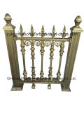 Rete fissa di alluminio modellata del giardino del ferro/rete fissa del cancello
