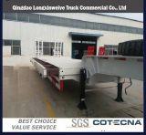 3 Gooseneck van assen 60tons Verwijderbare Op zwaar werk berekende Semi Aanhangwagen Lowbed