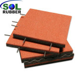 Un revêtement de sol en caoutchouc de plein air Slip-Resistant