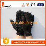 Ddsafety 2017 a tricoté le gant noir de PVC