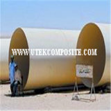 couvre-tapis de fibre de verre piqué par largeur de 380GSM 150mm pour le Pultrusion