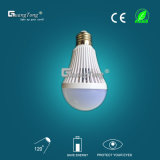 Luz de bulbo recargable de la luz de bulbo del precio de fábrica 9W LED