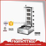 Gas de acero inoxidable Shawarma doner kebab la máquina con 2 quemadores (VHG-790)
