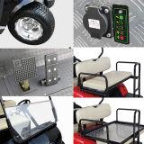 Chariot de golf de 6+2 Seater avec le joncteur réseau avant et le panneau solaire