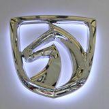 Сшитые индивидуальные 3D-Car Logo признаки