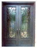 Zollamt-Glastür-Haupteintrag-Eisen-Tür