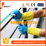Ddsafety 2017 Bicolor Latex Household Working Gloves